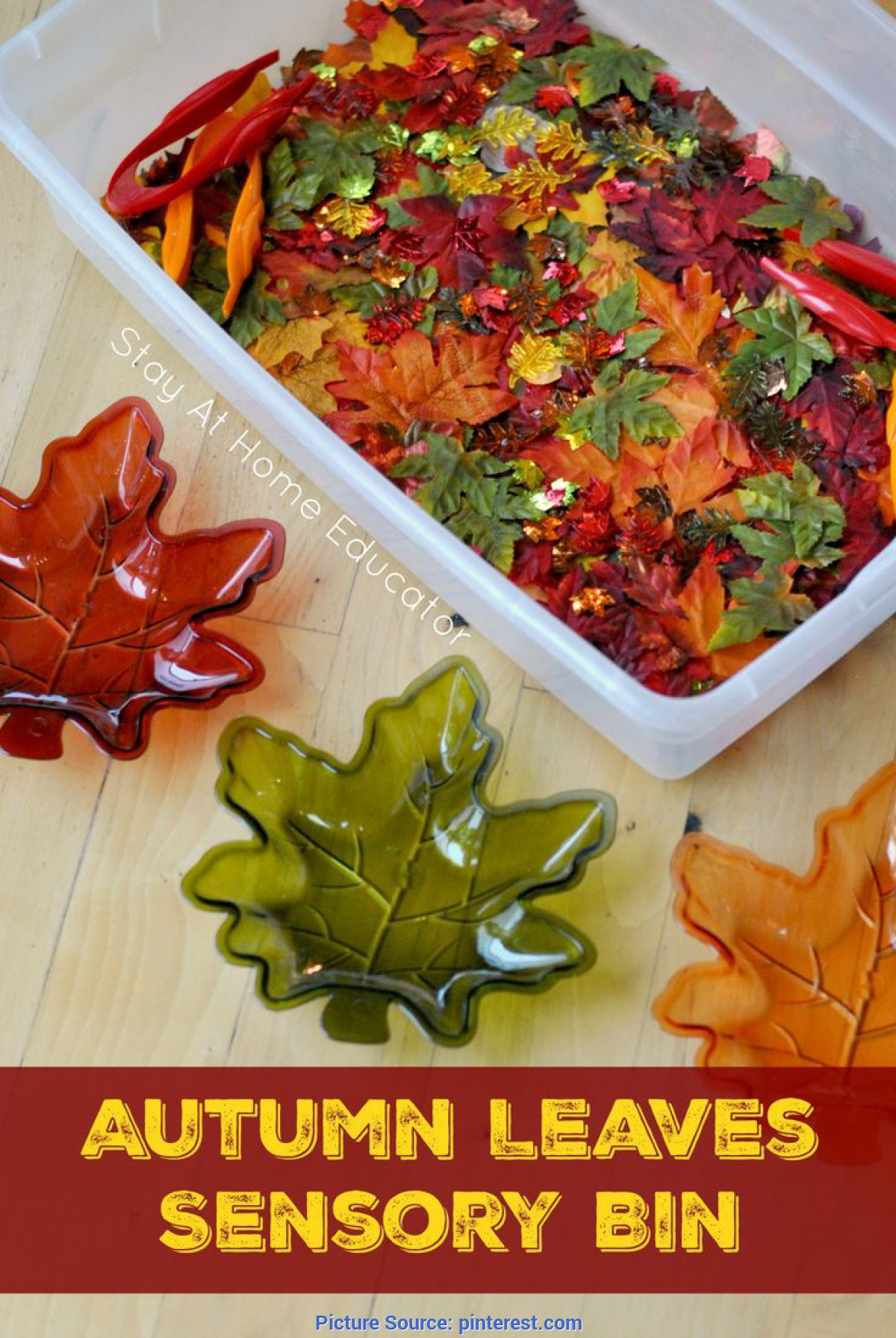 Typical Autumn Leaves Activities Autumn Leaves Sensory Bin | Activities, Leaves And Au