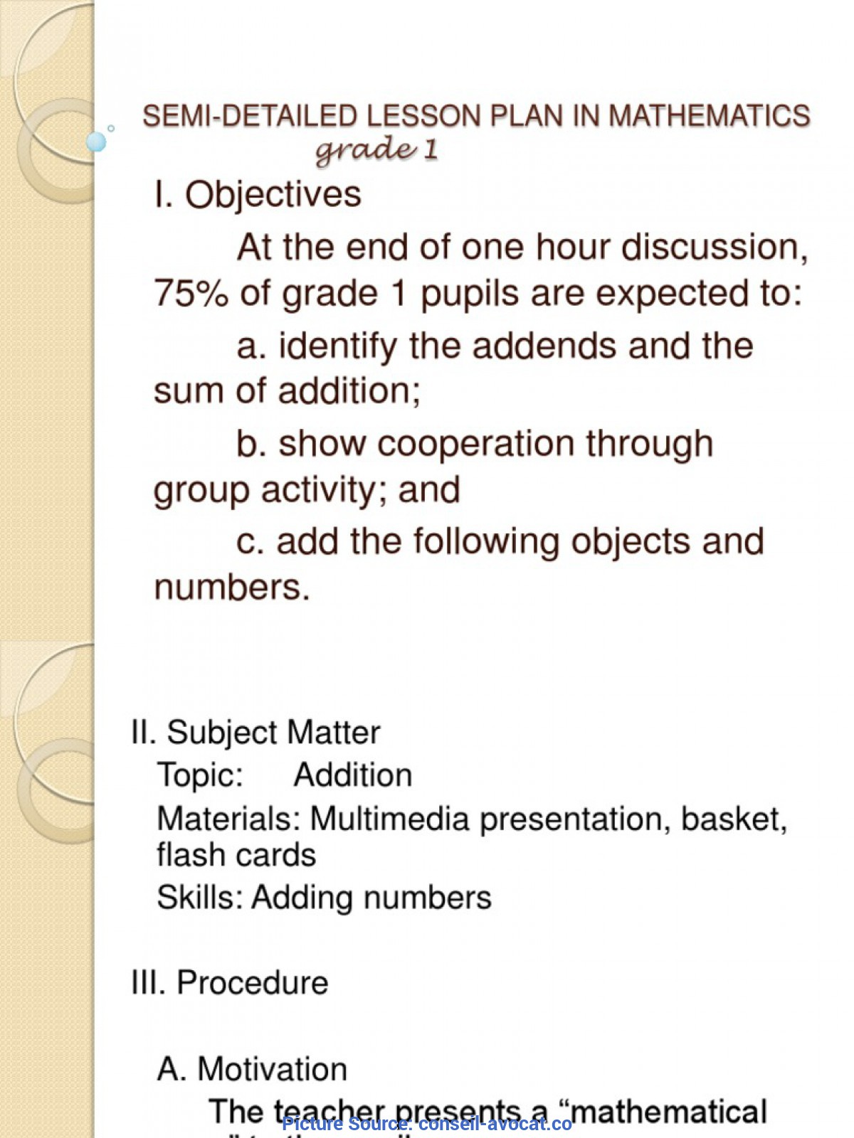 Typical Detailed Lesson Plan Outline 8 A Lesson Plan Format Free Consignment Contract Temp