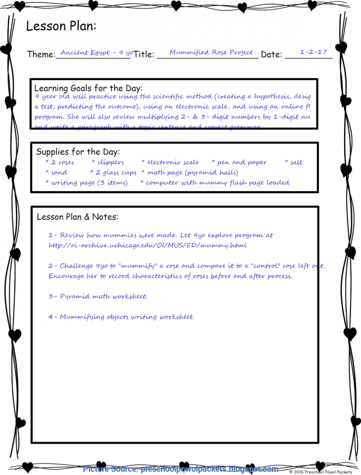 Typical How To Make A Lesson Plan For 3 Year Olds How To Design A Stem Homeschool Curriculum   Preschool Powol Pac