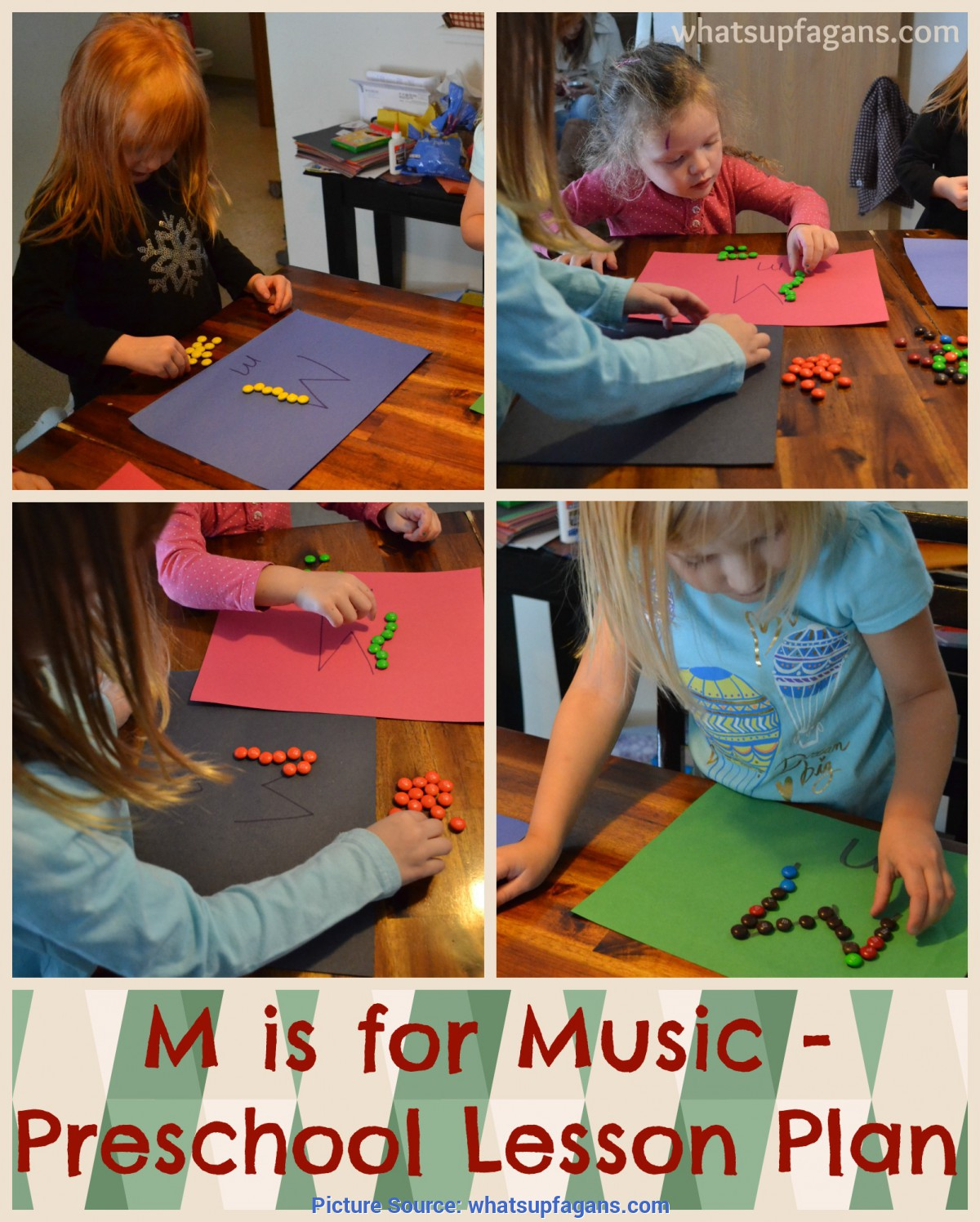 Typical Lesson Plans For Toddlers Music Letter M Activities For Preschool: M Is For Music Le