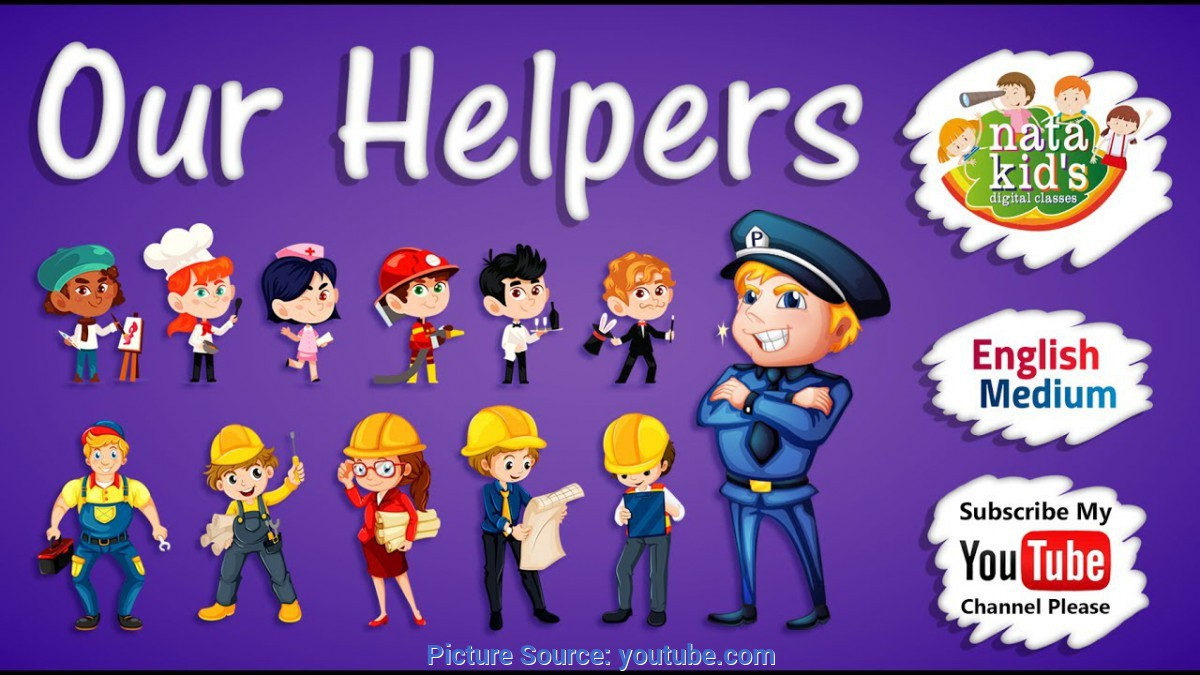 Typical Our Helpers For Kids Learn Our Helpers For Kids - Our Helpers For Children - Englis
