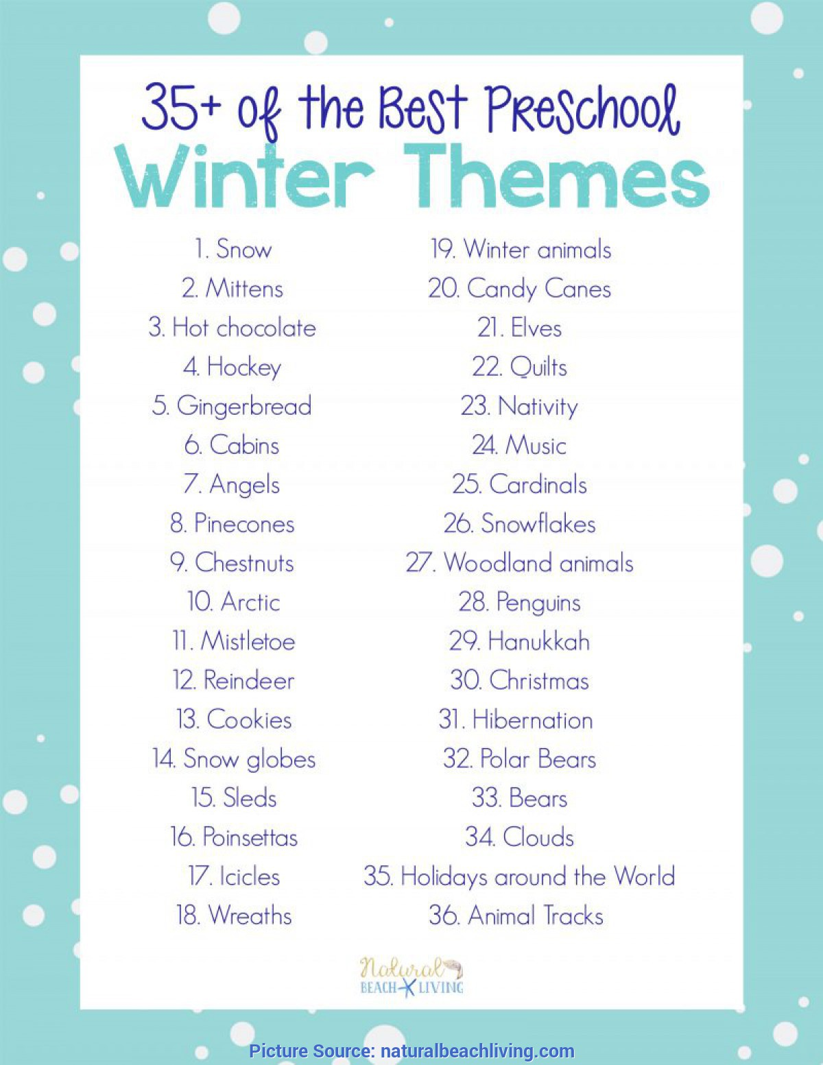 Typical Pre K Lesson Plans About Winter 35+ Best Winter Preschool Themes And Lesson Plans - Natural Beac