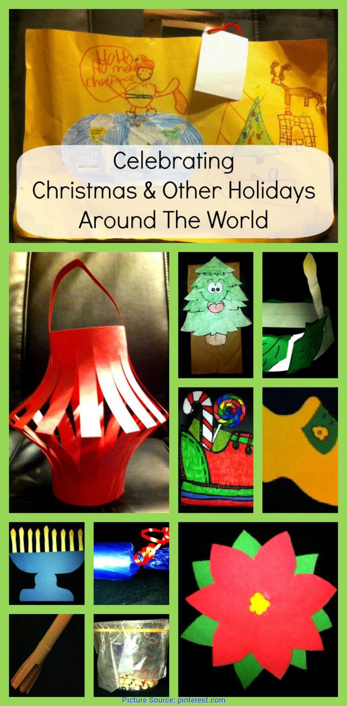 Typical Preschool Lesson Plans Holidays Around The World