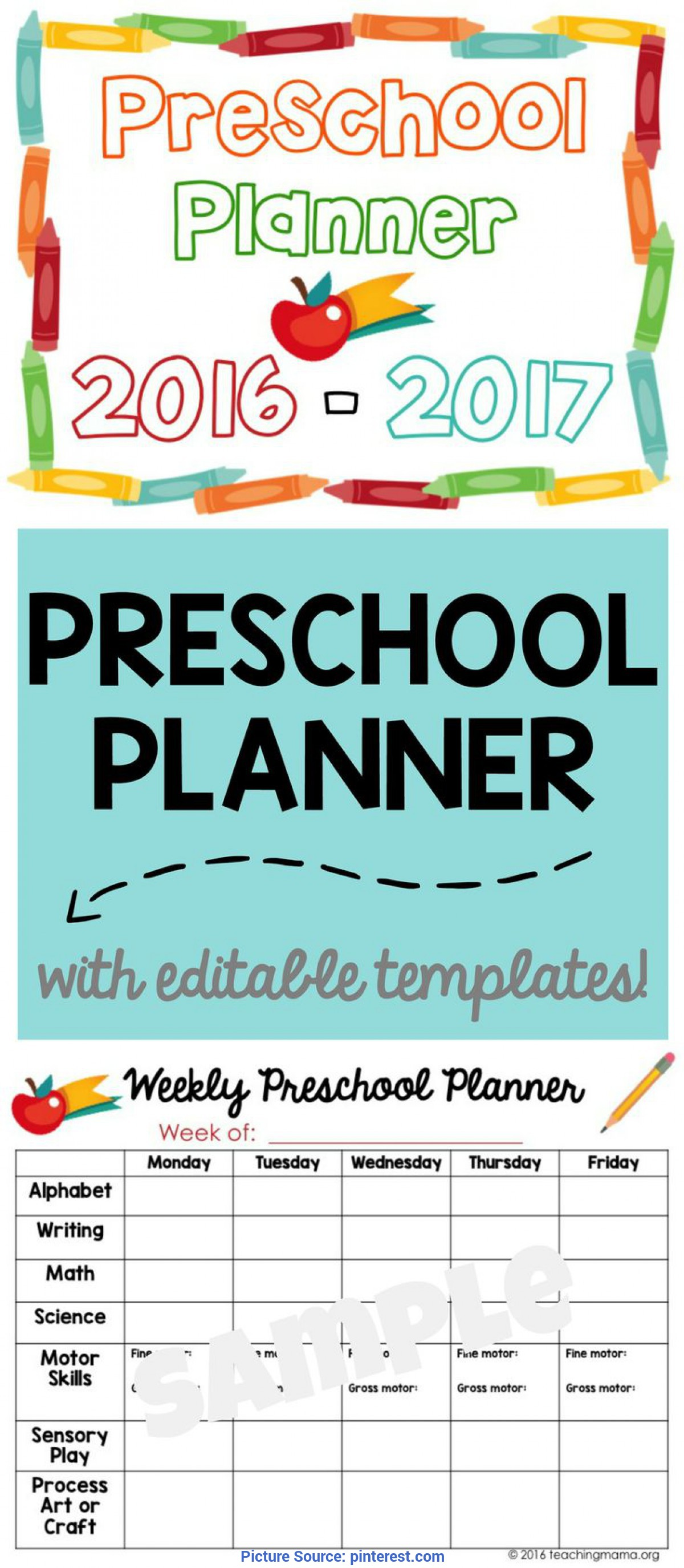 Typical Quick Preschool Lesson Plans Printable Preschool Planner - On Sale Now | Preschool Planne