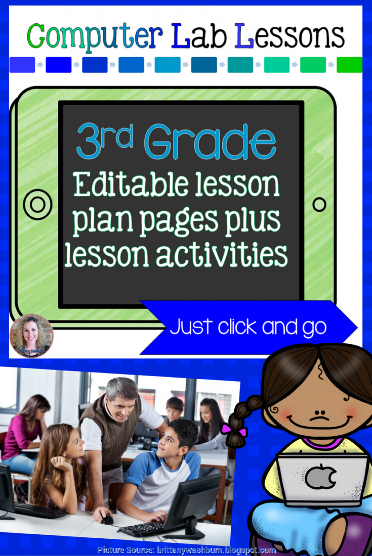 Unusual 3Rd Grade Technology Lessons Technology Teaching Resources With Brittany Washburn: 3Rd Grad
