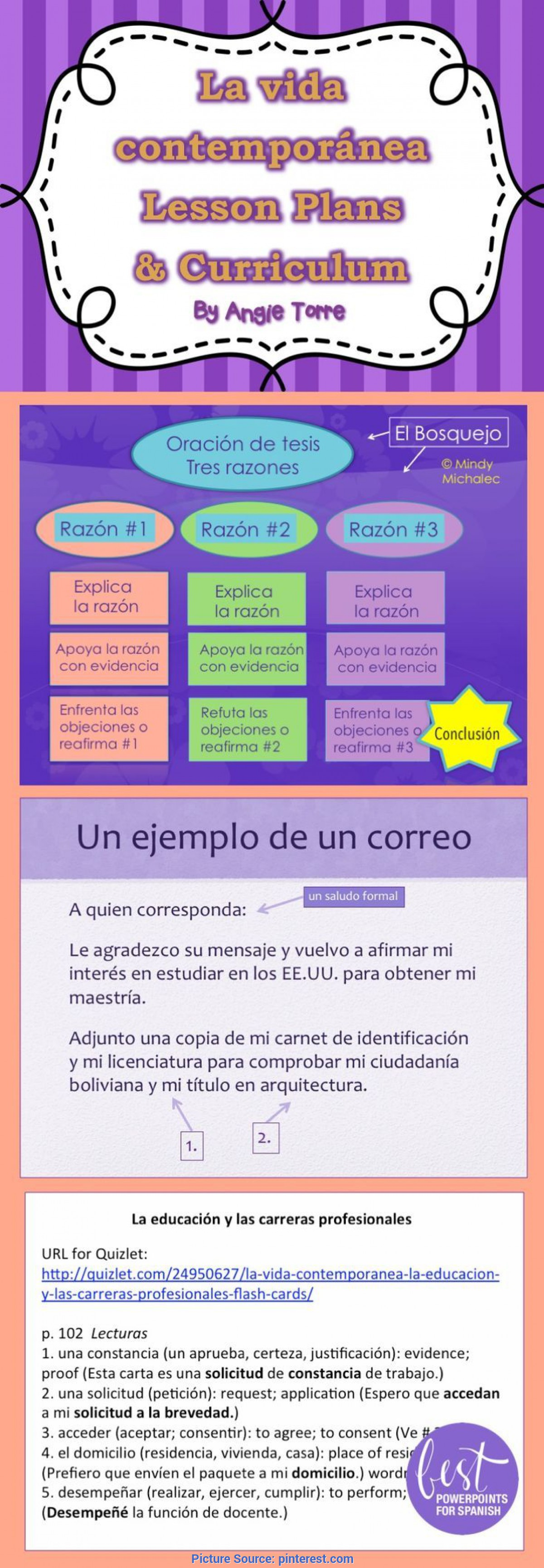 Unusual Buy Lesson Plans La Vida Contemporánea Lesson Plans And Curriculum For Ap Spanis
