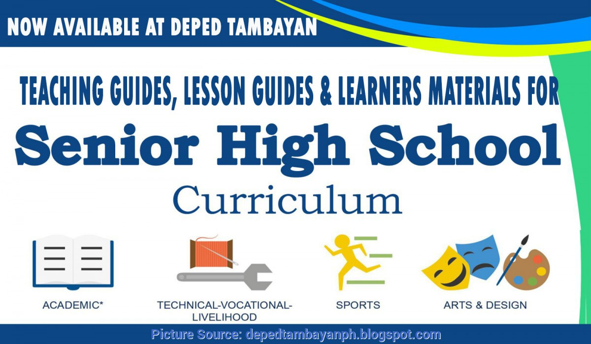 Unusual Lesson Plan In Senior High School Teaching Guides, Lesson Guides And Learners Materials For Senio