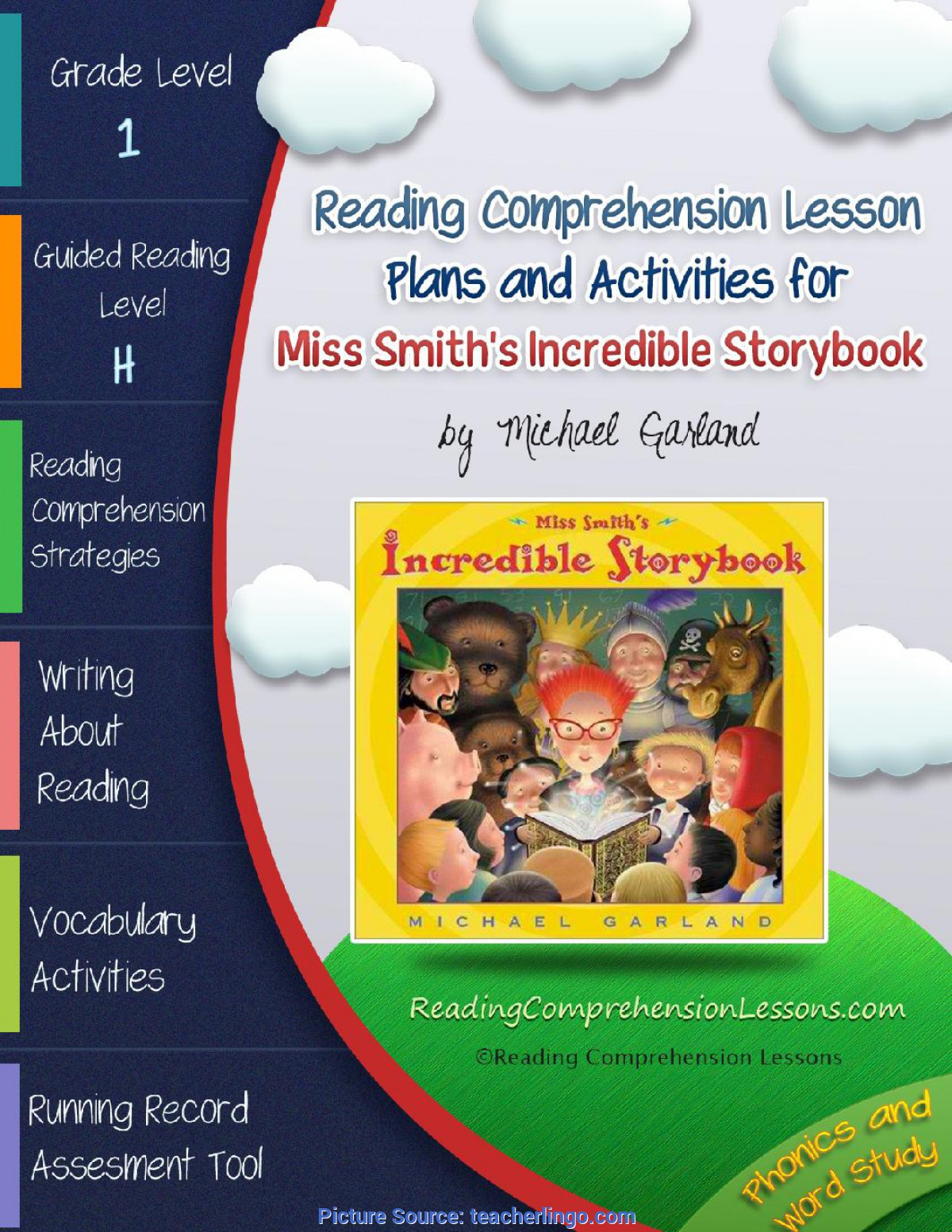 Unusual Lesson Plan Story Book Miss Smith'S Incredible Story Book
