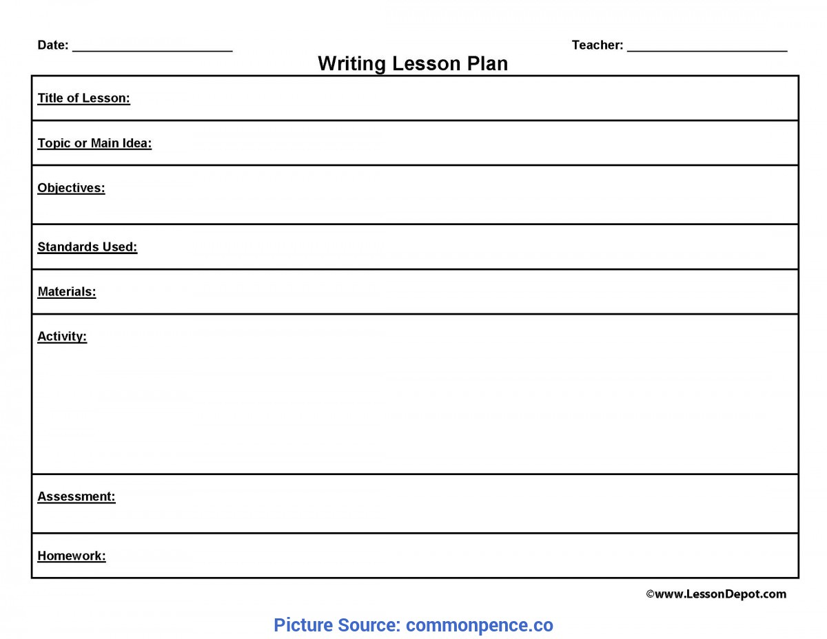 Unusual Lesson Plan Template On Word Lesson Plan Template For Word - Commonpenc