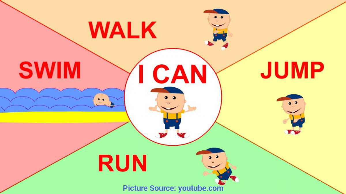 Unusual Preschool English Lessons I Can   Simple Song For Children Learning English - You