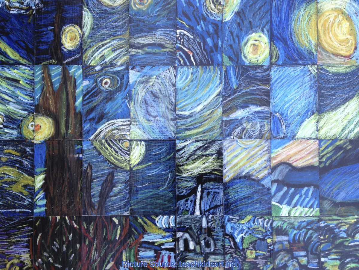 Unusual Vincent Van Gogh Elementary Art Lesson Plans