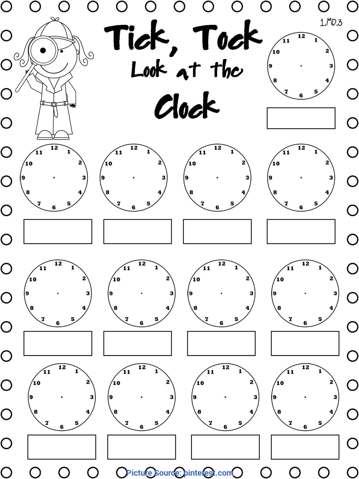 Useful 3Rd Grade Math Lesson Plans Telling Time Telling Time Freebie. Use This Throughout The Day. When A Buzze