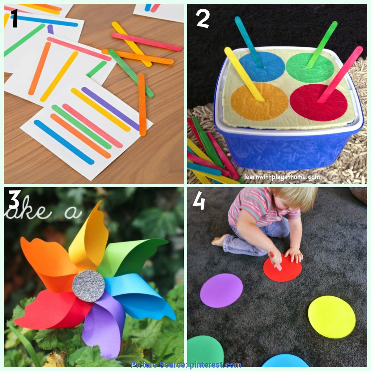 Useful Activities For 2 And 3 Year Olds 8 Colour Learning Activities For Kids   Learning Activitie