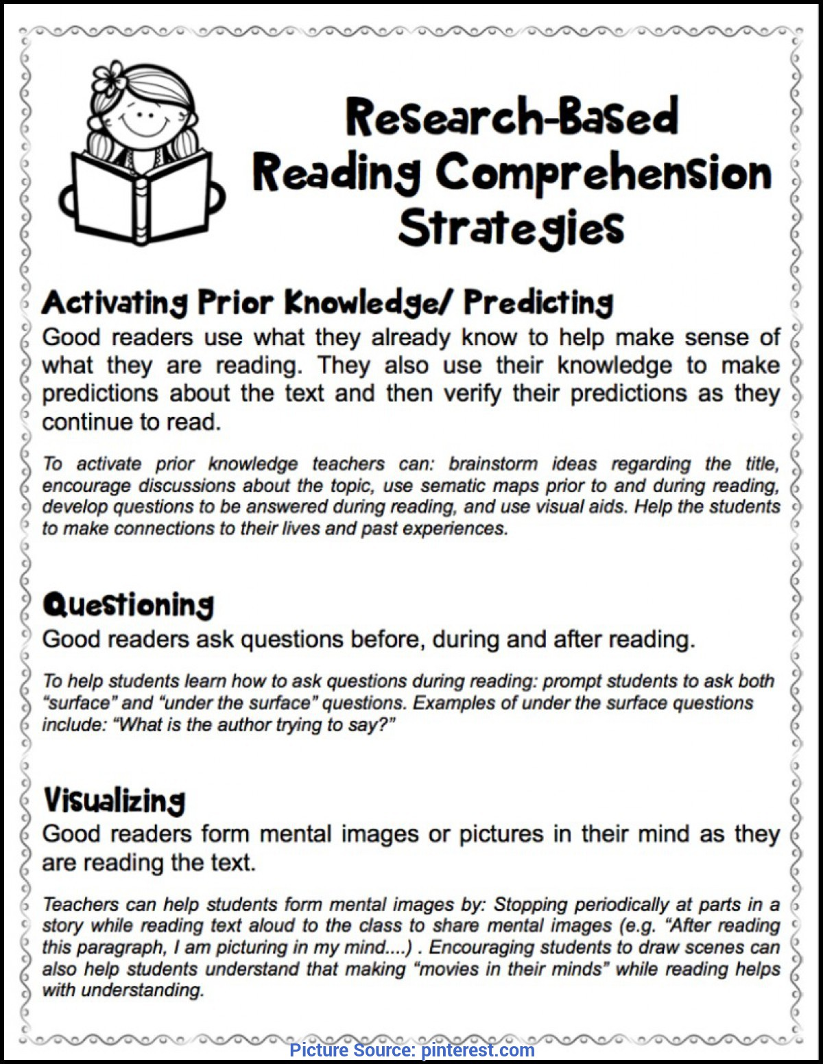 Useful Sample Lesson Plan Teaching Reading Comprehension ...
