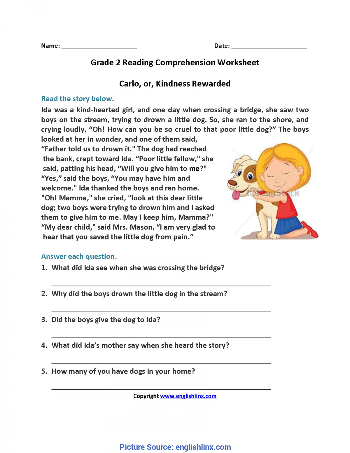 - Useful Second Grade Reading Activities Reading Worksheets Second