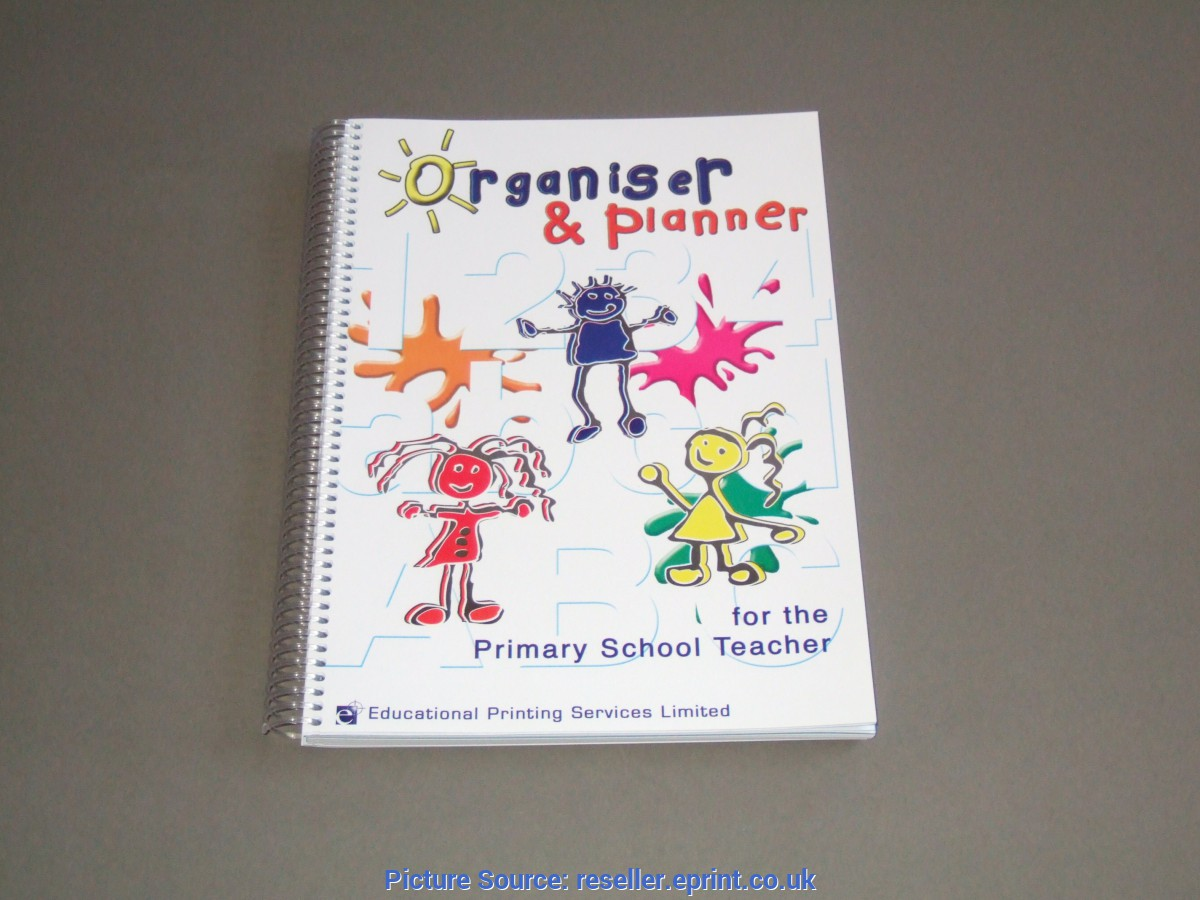Useful Teacher Organiser And Planner Teacher Planners | Educational Printing Services Lim