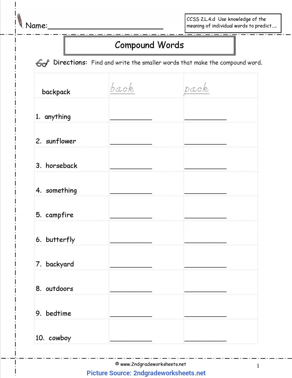 Valuable English Lesson For 2Nd Grade Free Language/grammar Worksheets And Print