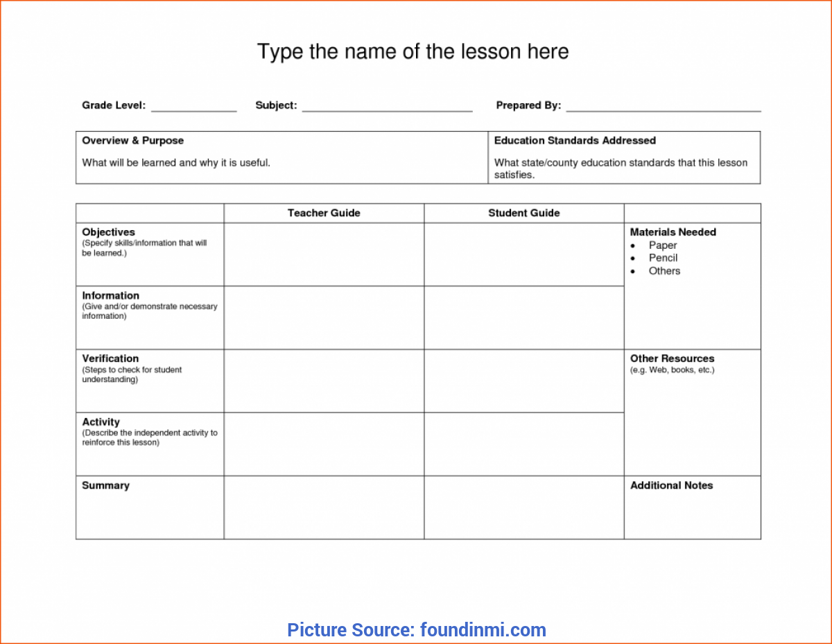 Valuable Lesson Plan Template Higher Education Uk 52 Lesson Plan Template Doc New €? Found
