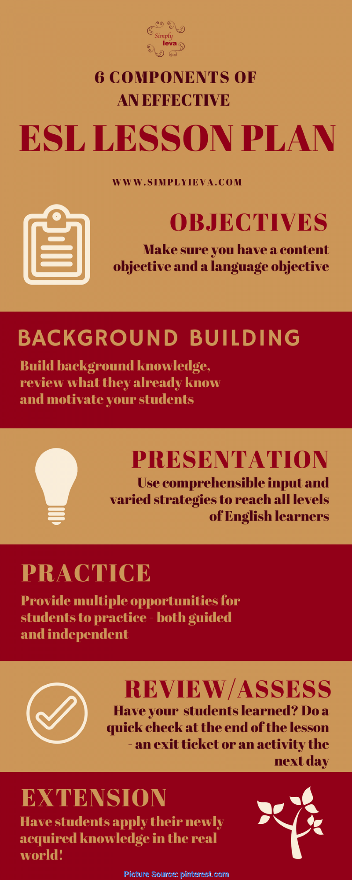 Valuable Siop Lesson Plan Learning Strategies 6 Elements Of An Effective Esl Lesson