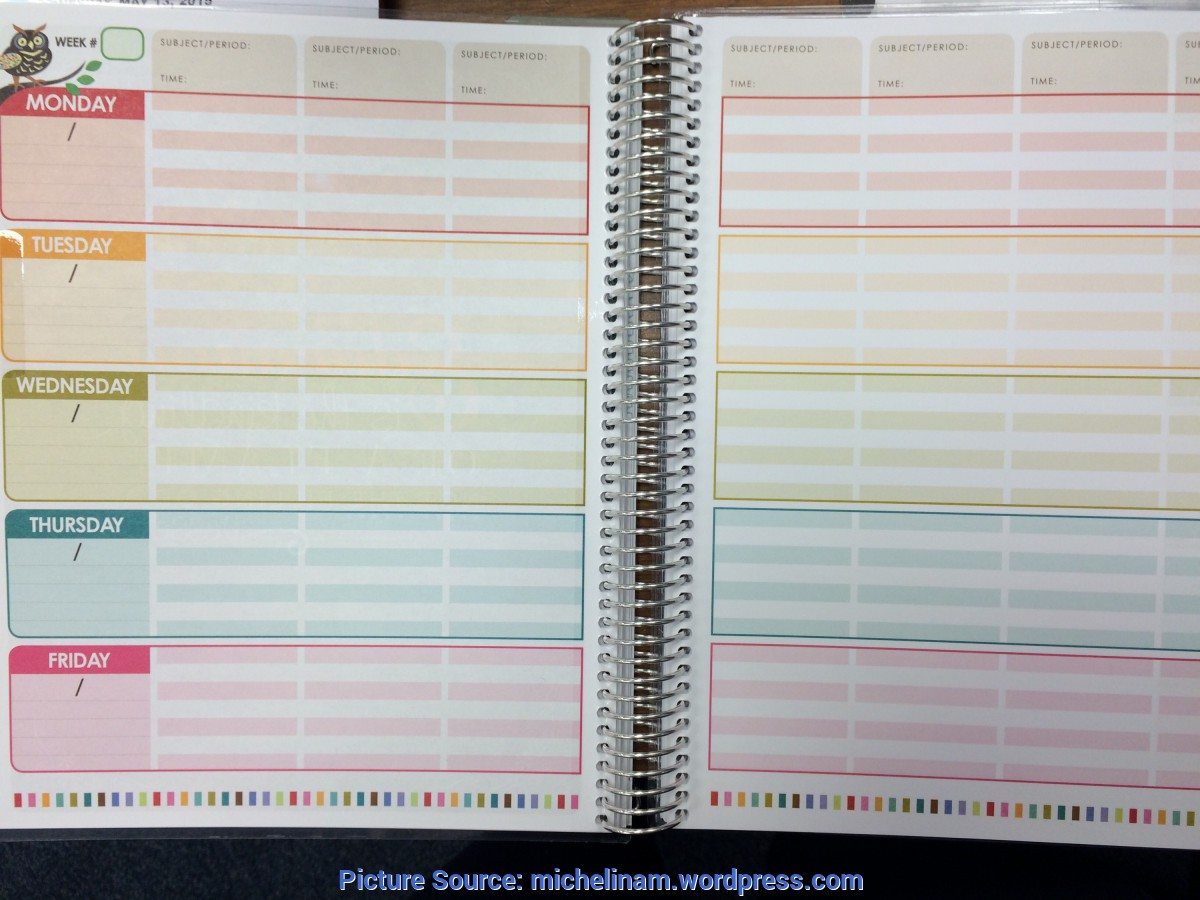 Best Erin Condren 2016 Teacher Planner My Erin Condren Teacher Planner, Part 1 | Adventures Of A Book Ad
