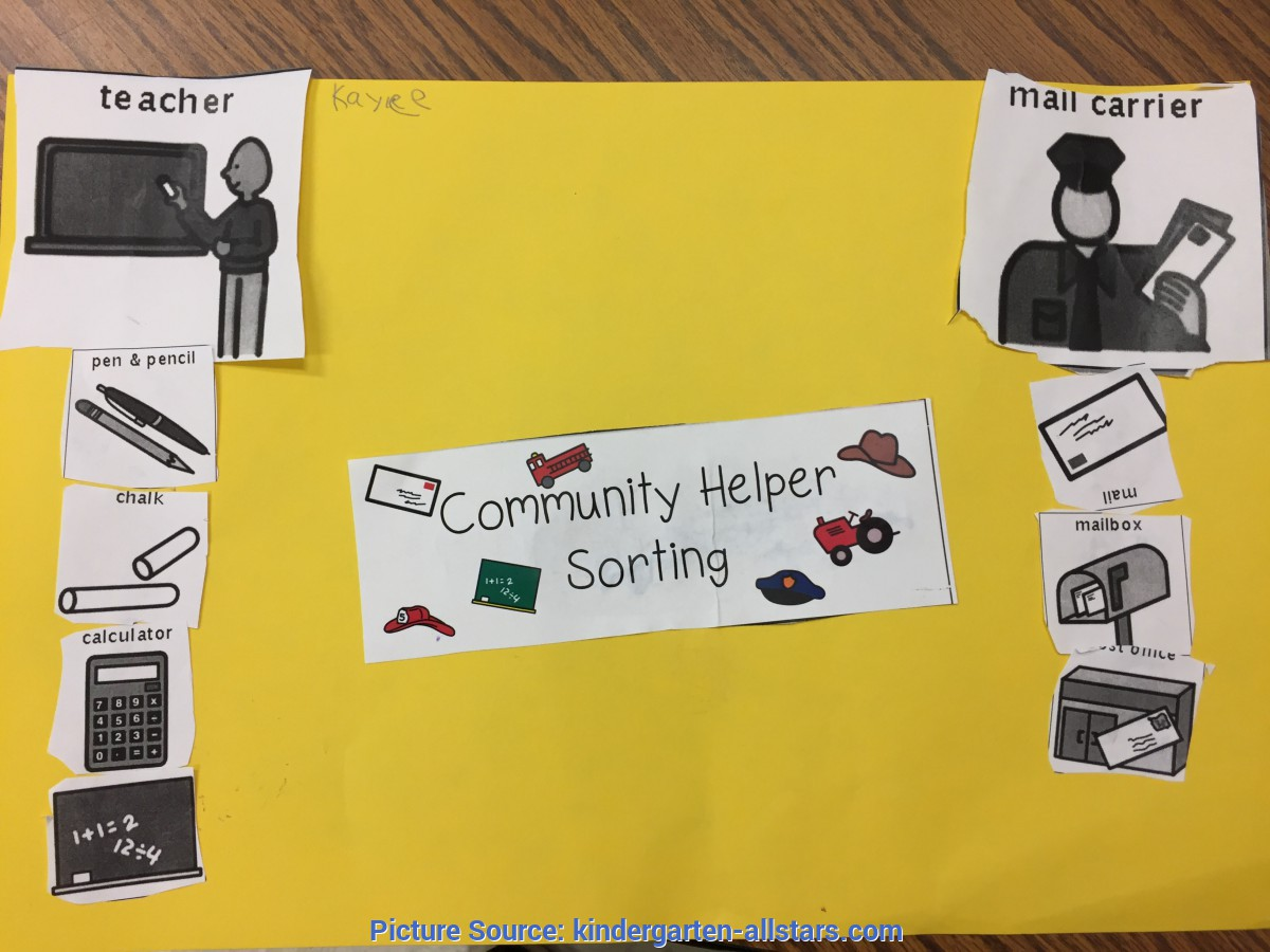 Best Our Helpers And Their Tools Community Helpers | The Kindergarten All-S