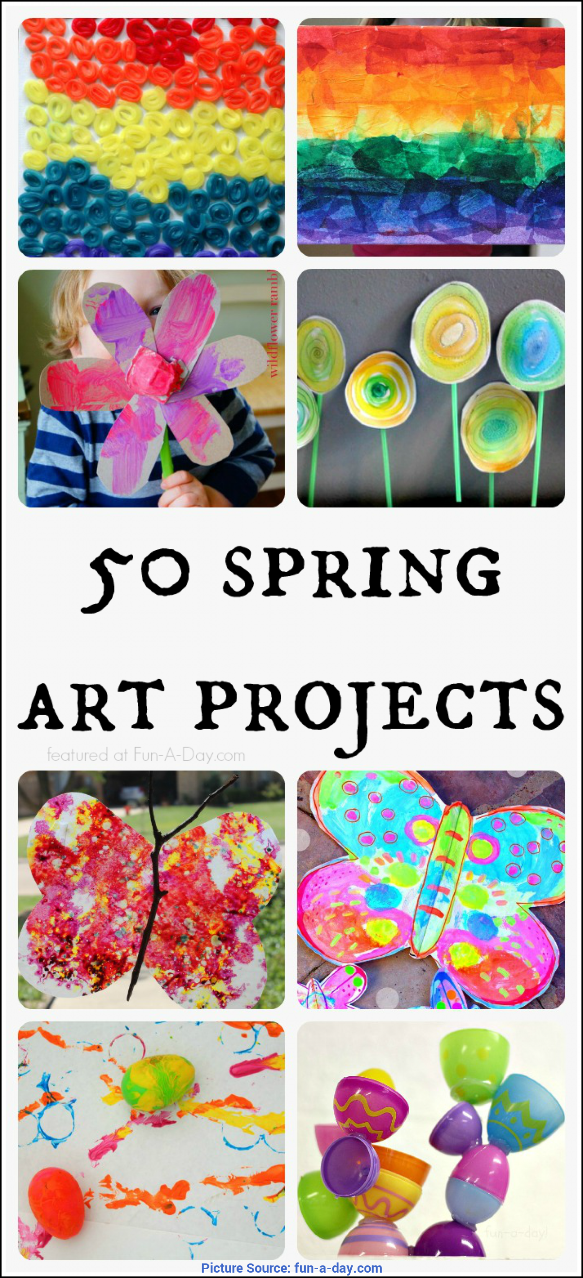 Best Spring Art Lesson Plans 50 Beautiful Spring Art Projects For