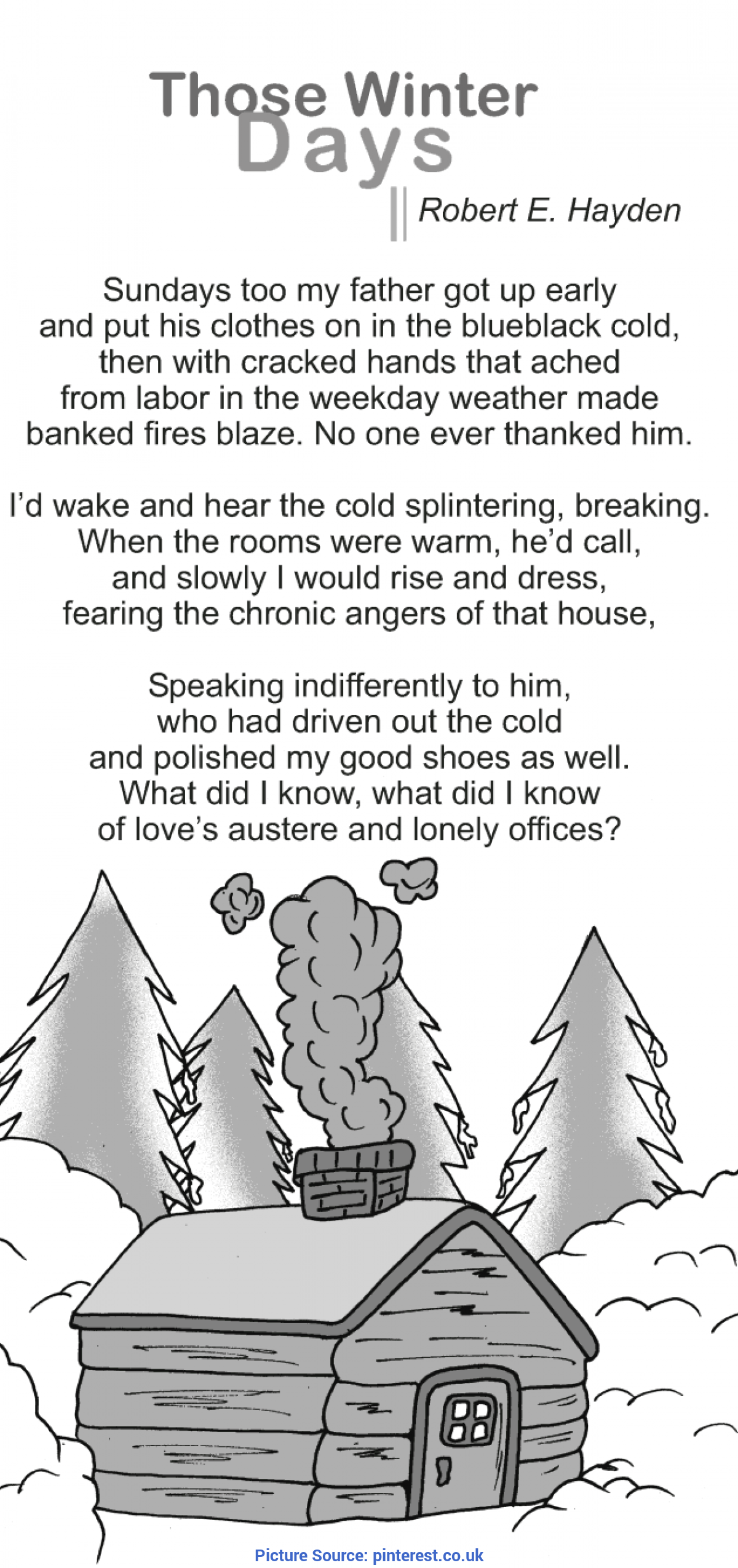 Excellent Grade 9 Lessons In English Grade 9 Reading Lesson 5 Poetry - Those Winter Days (1)   Englis
