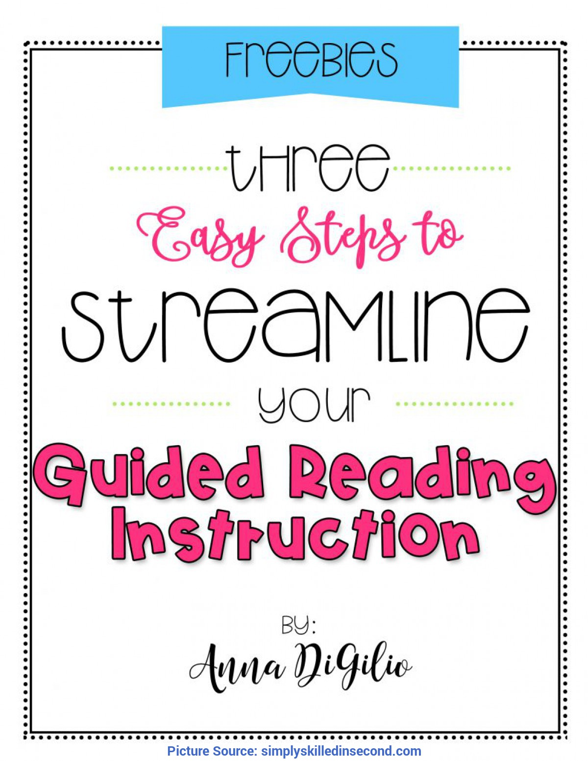Fresh Guided Reading Steps 3 Easy Steps To Streamline Your Guided Reading Instructio