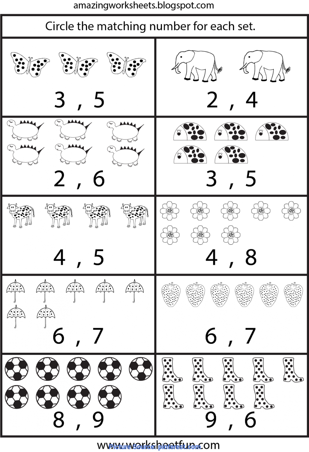 Trending Kindergarten Math Worksheets Printable ...