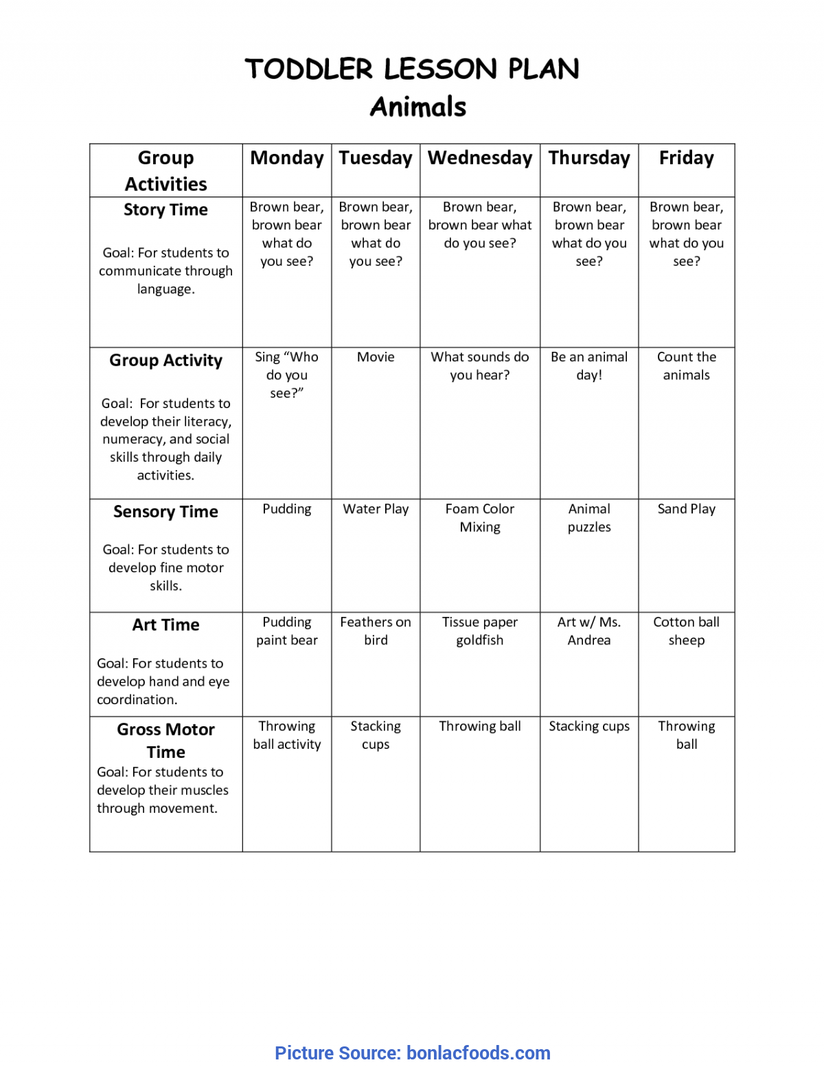 Great Mobile Infant Lesson Plans Worksheets For All | Download And Share Worksheets | Free O