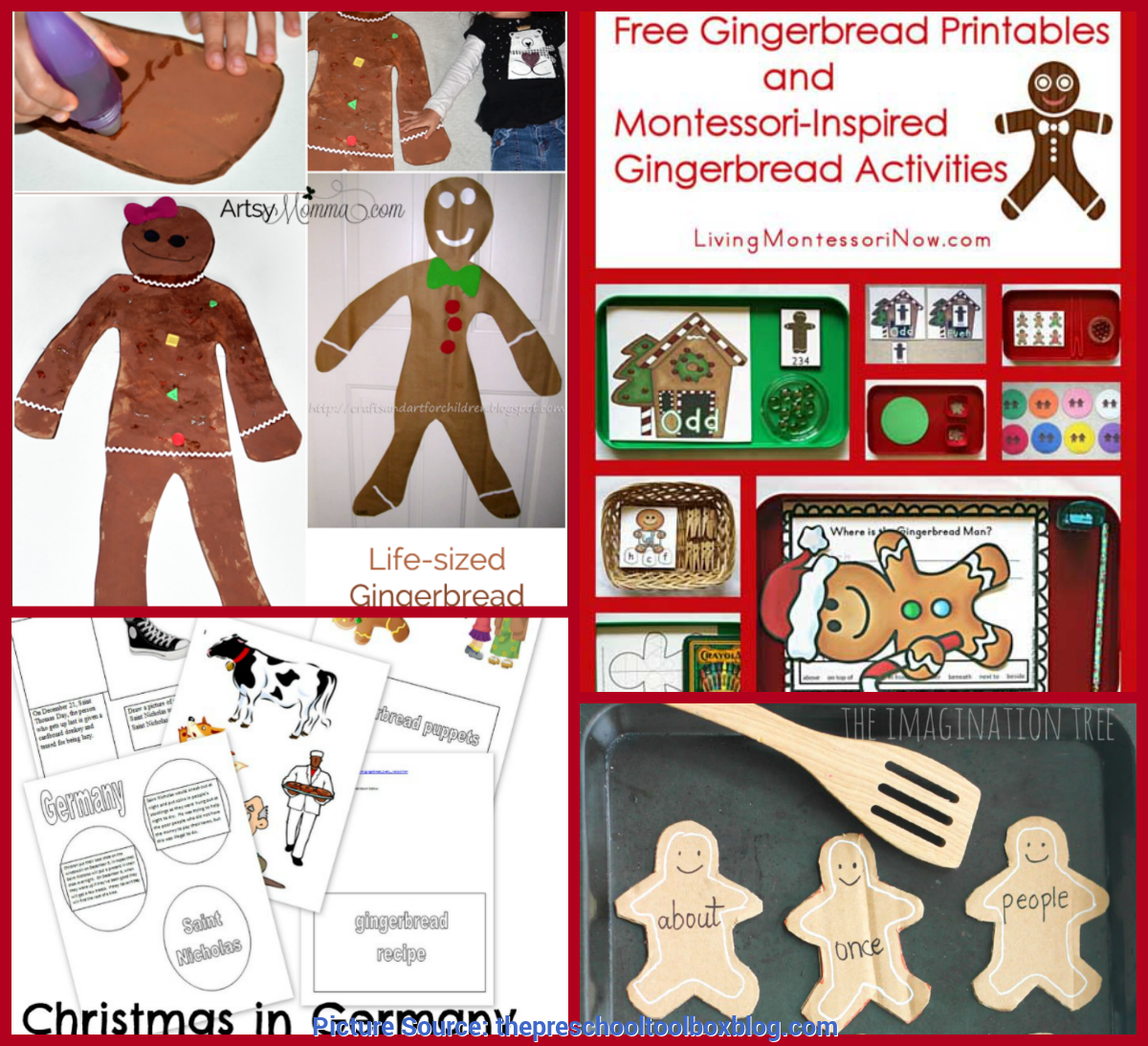 Great Preschool Lesson Plans Gingerbread Theme The Ultimate Gingerbread Theme For Preschool And Kindergarte
