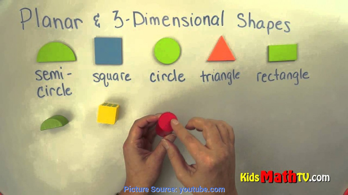 Interesting Lesson Plans For Teaching 3 Dimensional Shapes Planar And 3 D Shapes. Geometry Lesson On Shapes For Kindergarte