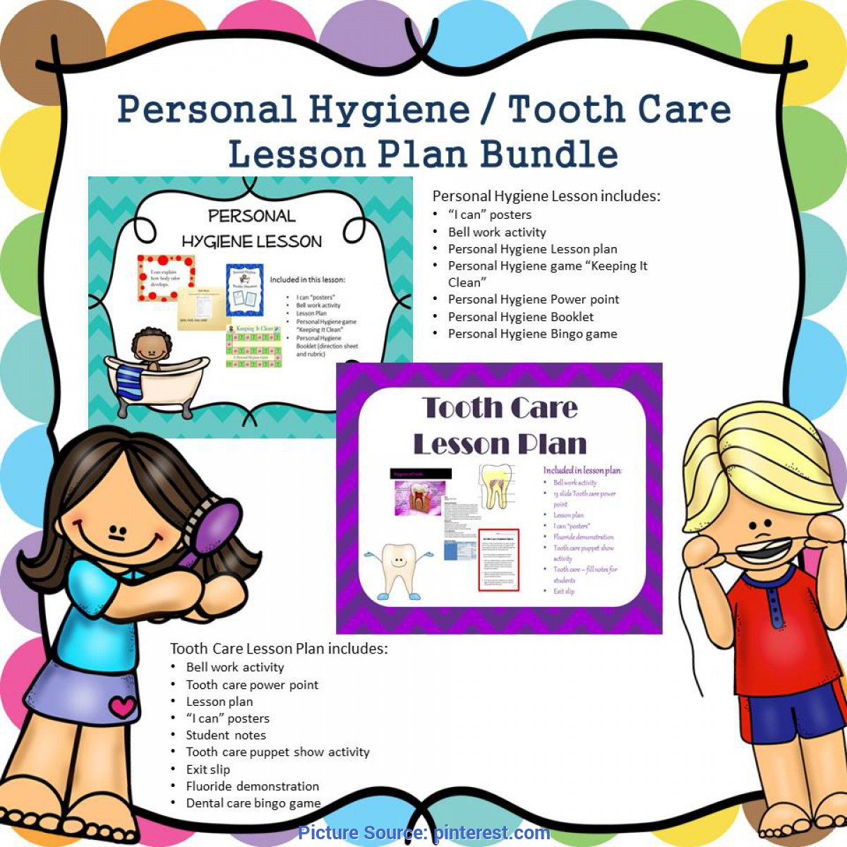 Interesting Sample Semi Detailed Lesson Plan In Health Personal Hygiene Lesson Plan Bundle   Hygiene Lessons, Persona
