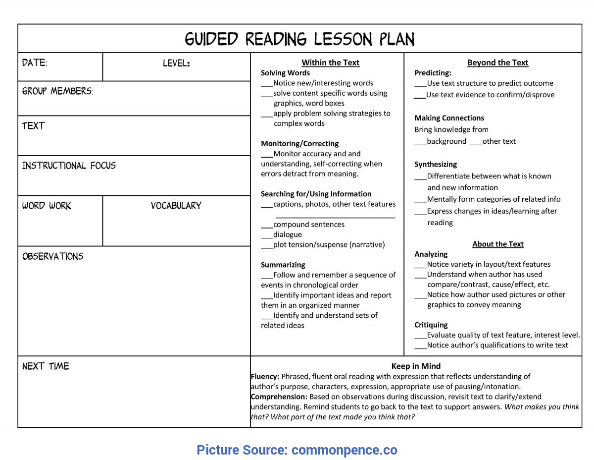 Interesting Siop Reading Lesson Plan Lesson Plan Template For Kindergarten - Commonpenc
