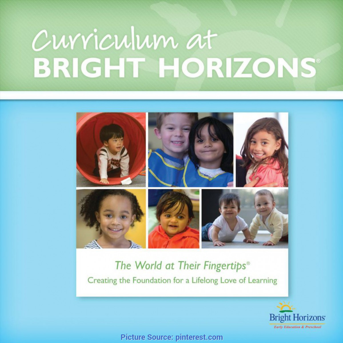 Newest Bright Horizons Infant Lesson Plans Bright Horizons Curriculum Guide | Daycare | Pinteres