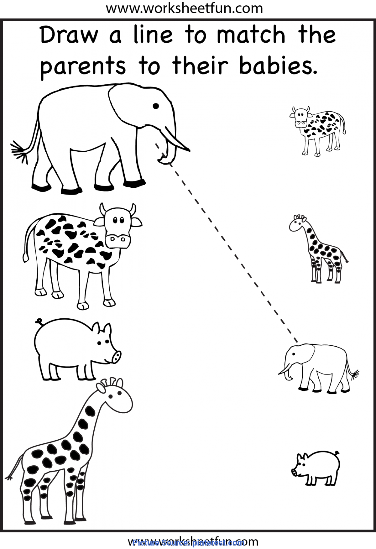 4 Year Old Worksheets Printable | Activity Shelter - Ota Tech