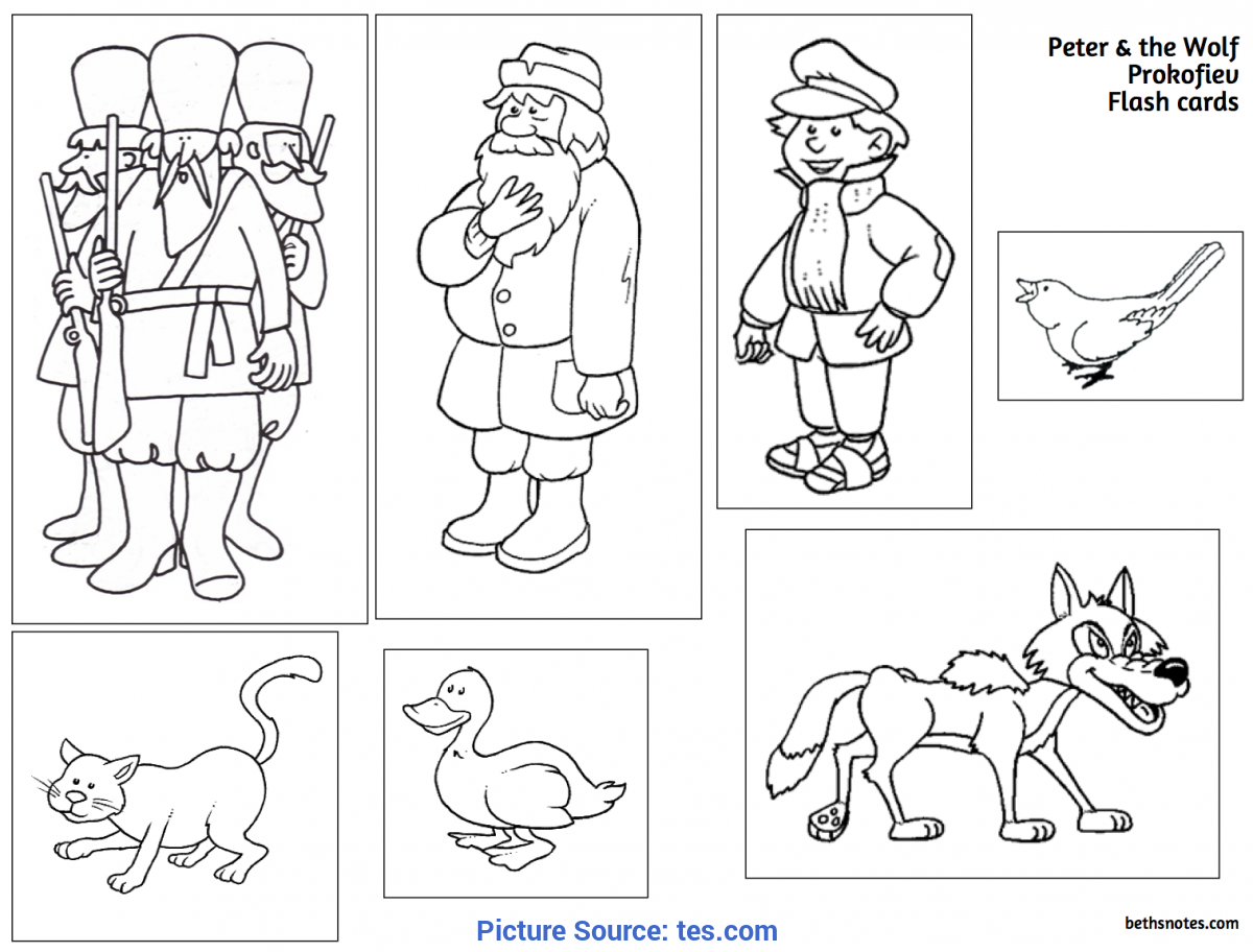 Newest Peter And The Wolf Lesson Plans Peter And The Wolf - Lessons - Tes T