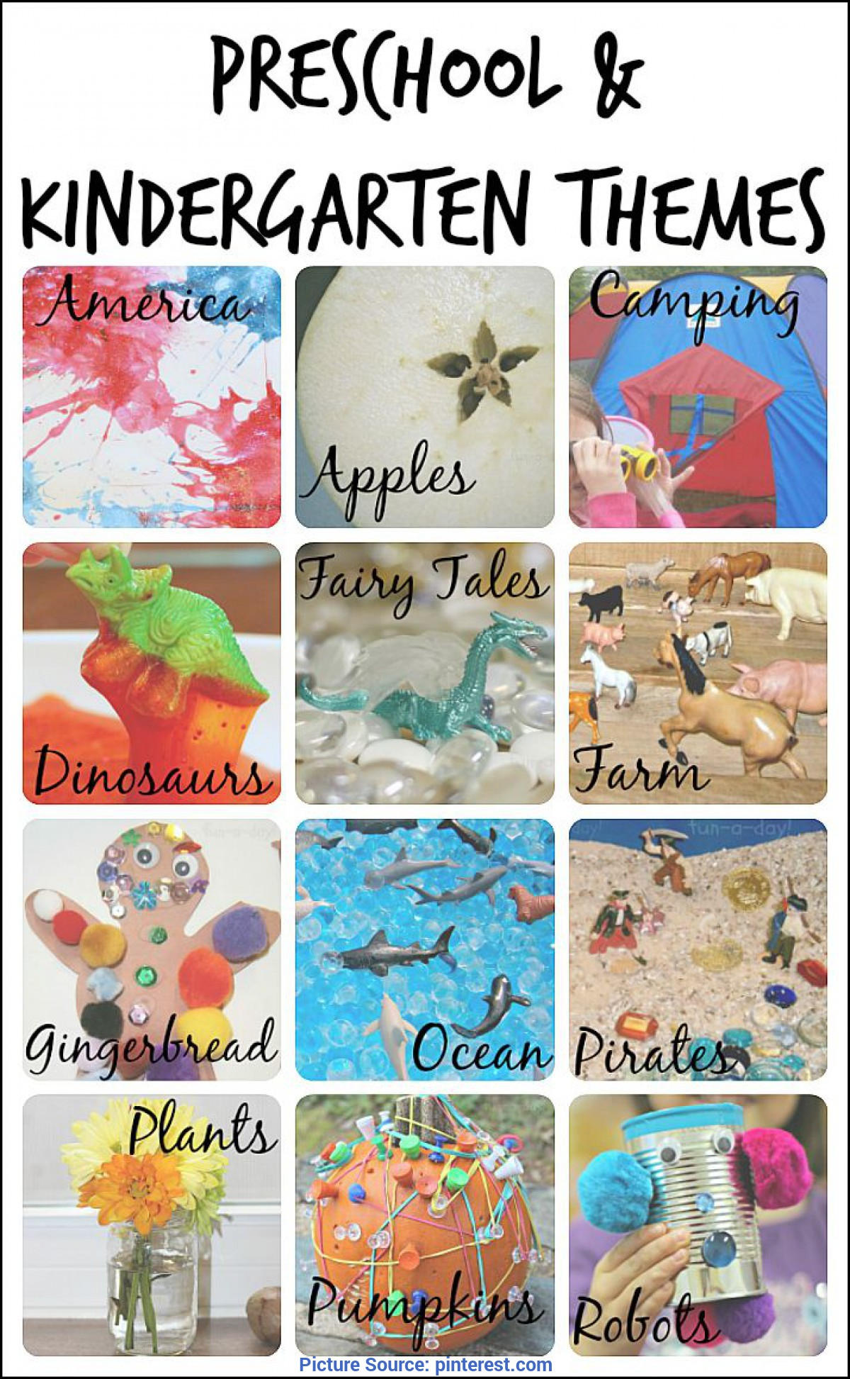 Newest Themes For Kindergarten Lesson Plans Best 25+ Kindergarten Themes Ideas On Pinterest   Preschool Theme