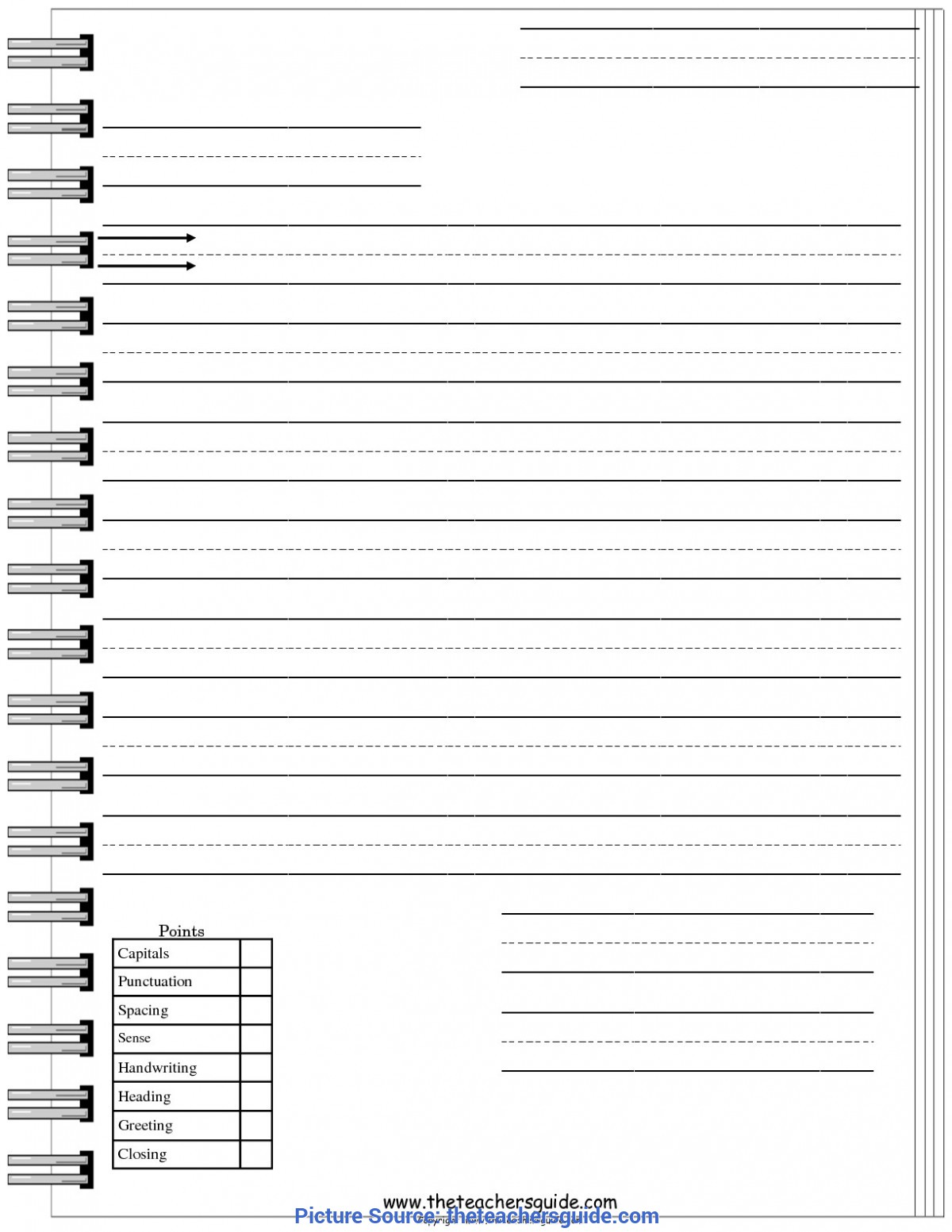 Simple Lesson Plan Letter Writing Writing Lesson Plans, Themes, Printouts, Cr
