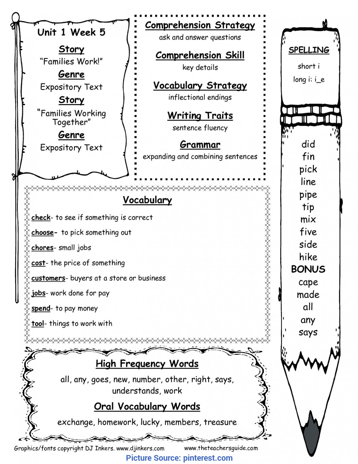 Special 2Nd Grade Literacy Lesson McGraw-Hill Wonders Second Grade Resources And Printout