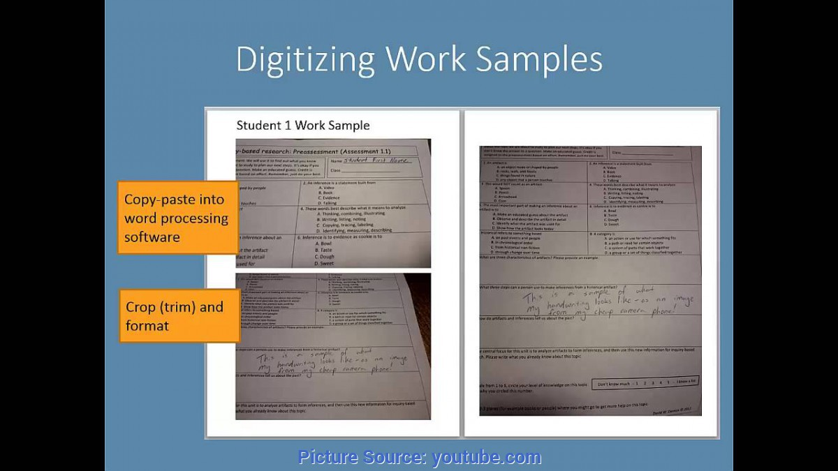 Special Edtpa Task 3 Sample Collecting Student Work Samples And Providing Feedback - You
