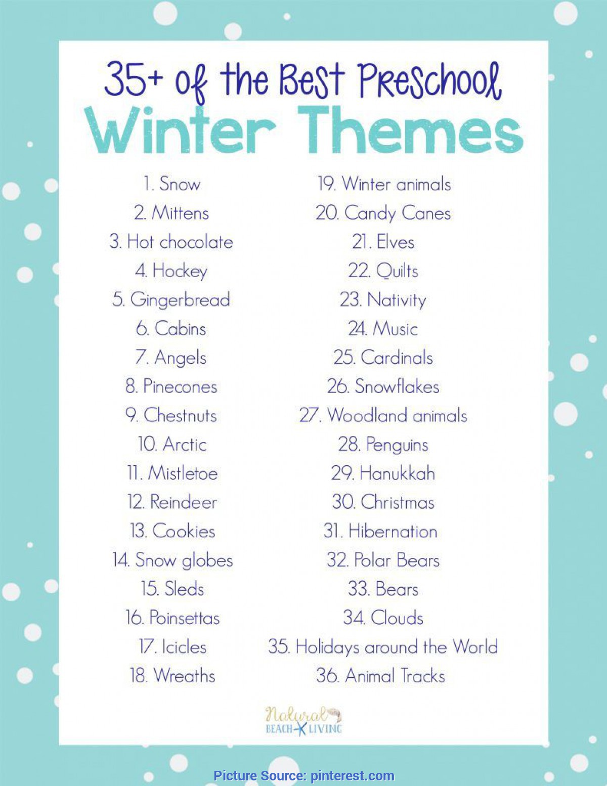 Special Preschool Lesson Plans For Snow 35+ Best Winter Preschool Themes And Lesson Plans   Math Ste