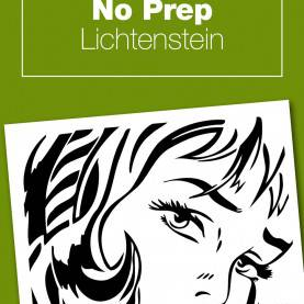 Best Art Lesson Plans Roy Lichtenstein No-Prep Lichtenstein Project | Roy Lichtenstein, Art History An