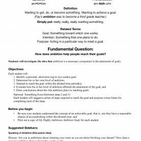 Best Detailed Lesson Plan In English Elementary Ambition - Character Lesson Plan. Free, Downloadable, 52 Tota