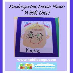 Best Detailed Lesson Plan In English Reading Grade 1 Kindergarten Lesson Plans: Week One! | Heidi S