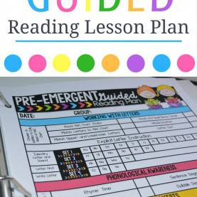 Best Emergent Reading Lesson Plans Guided Reading Pre-Emergent Bundle | Reading Lesson Plans, Readin