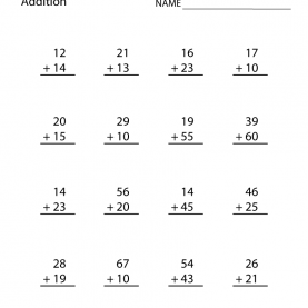 Best For Second Graders Second Grade Addition Works