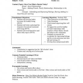 Best How Yo Make A Lesson Plan A Lesson Plan For Grade One Developed Around The Book Resourc