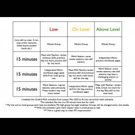 Best Lesson Plan Template For 6Th Grade Math Guided Reading Lesson Plan Template   Out-Of-Dark