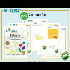 Best Lesson Plans For Preschool In June Free June Lesson Plan With Printables | Don'T Let Your Child Ge
